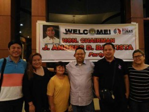 COMELEC spokesperson Jimenez dinner date!